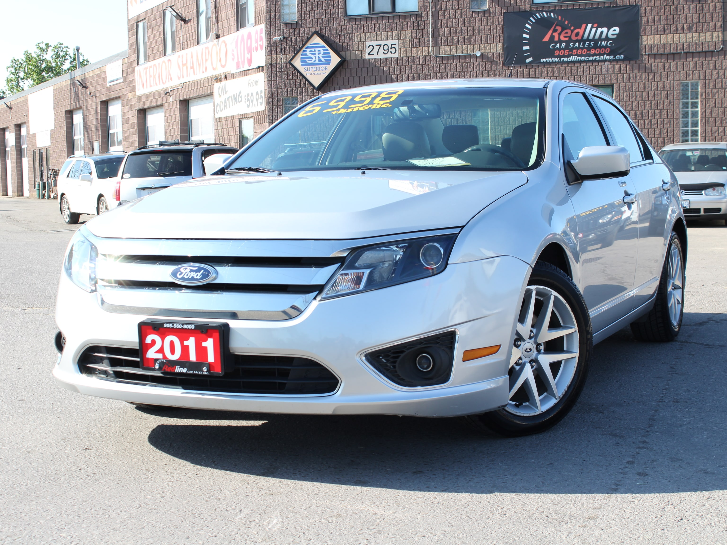 2011 Ford Fusion SEL Leather-Bluetooth Sedan