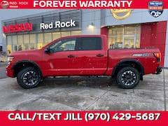 New 2021 Nissan Titan PRO-4X Truck Crew Cab in Grand Junction