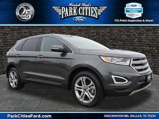 2018 Ford Edge Titanium SUV for sale in Dallas, TX