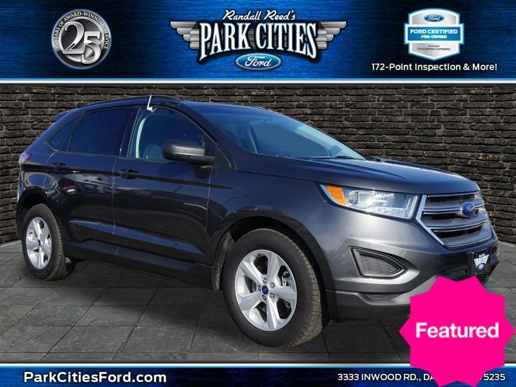 2018 Ford Edge SE SUV for sale in Dallas, TX