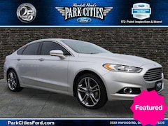 Certified Used Vehicles for sale 2016 Ford Fusion Titanium Sedan Located in Dallas, texas