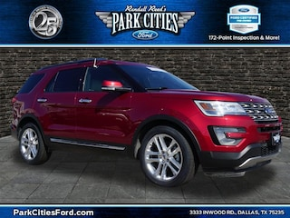 2017 Ford Explorer Limited SUV for sale in Dallas, TX