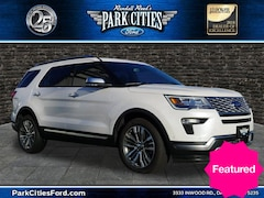 Used 2018 Ford Explorer Platinum SUV for sale in Dallas, TX