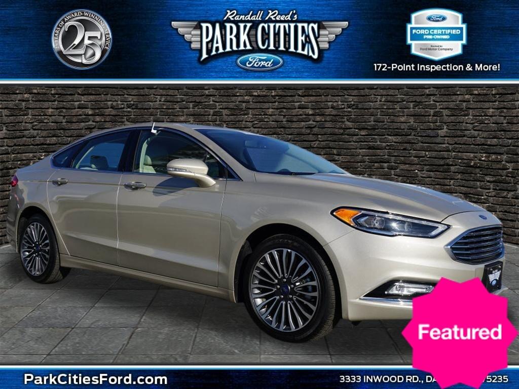 2018 Ford Fusion Titanium Sedan for sale in Dallas, TX