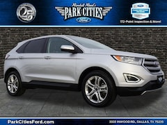 Certified Used Vehicles for sale 2018 Ford Edge Titanium SUV Located in Dallas, texas