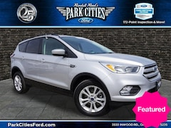 Certified Used Vehicles for sale 2018 Ford Escape SE SUV Located in Dallas, texas