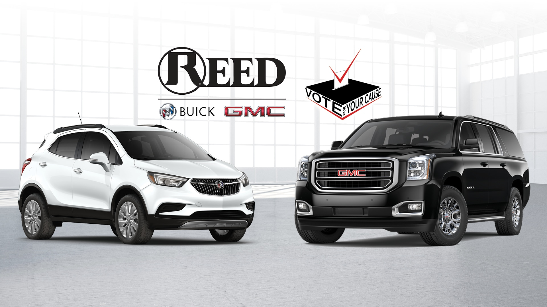 Reed Buick GMC Charity Contest