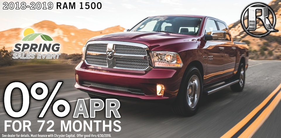0% for 72 months Ram Classic 1500