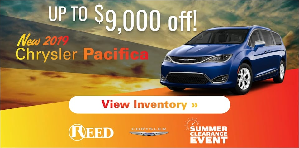 Pacifica July Specials