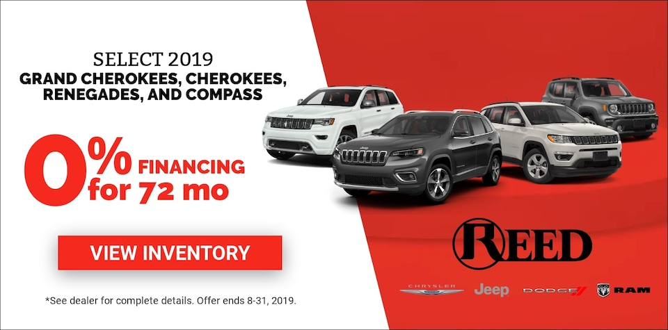 Jeep Aug Offers