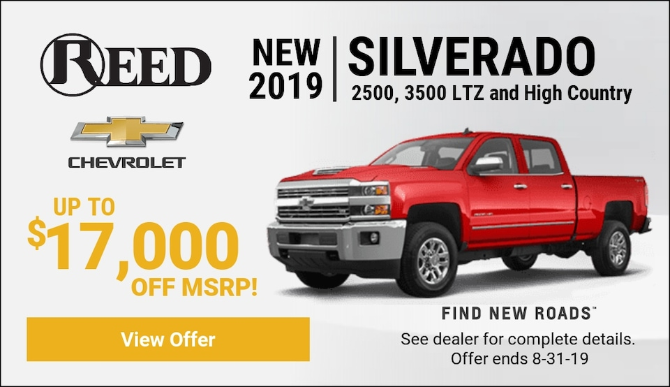 Silverado HD Aug Offers