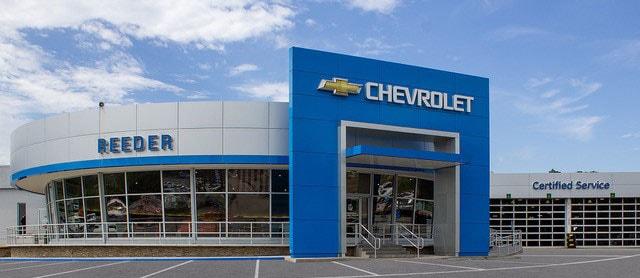 Reeder Chevrolet New Chevrolet Dealership In Knoxville Tn