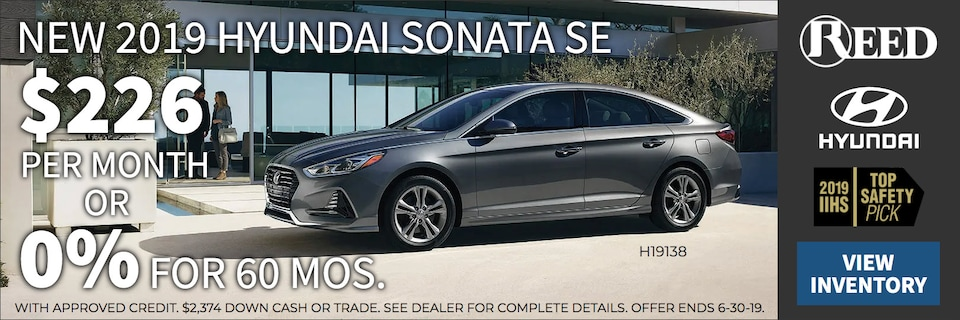 Sonata June Specials