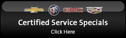 GM Service Specials