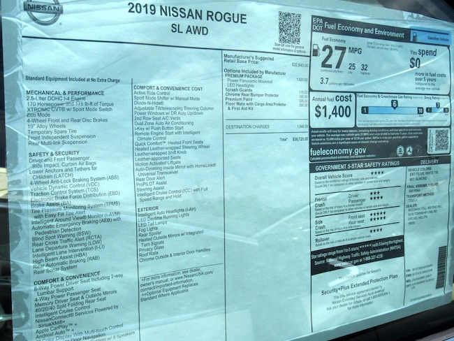 New 2019 Nissan Rogue For Sale at Reedman-Toll Nissan of