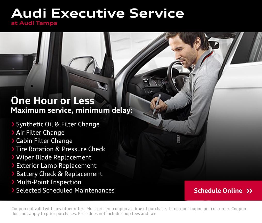 Audi Tampa Service Center
