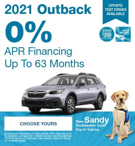 2021 Subaru Outback November STL