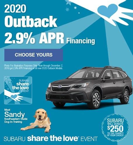New 2020 Subaru Outback - November STL
