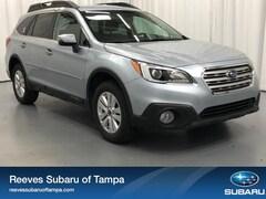Pre-Owned 2017 Subaru Outback 2.5i Premium Sport Utility for sale inTampa,Florida