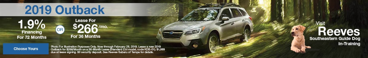 New Subaru For Sale In Tampa Outback Crosstrek Forester Wrx