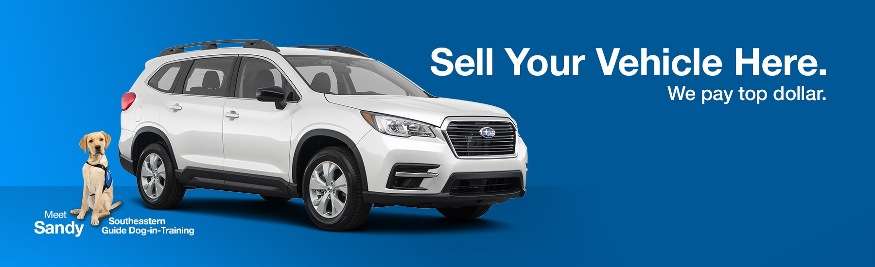 Sell Your Vehicle at Reeves Subaru