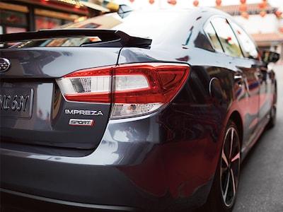 Subaru Impreza Taillights