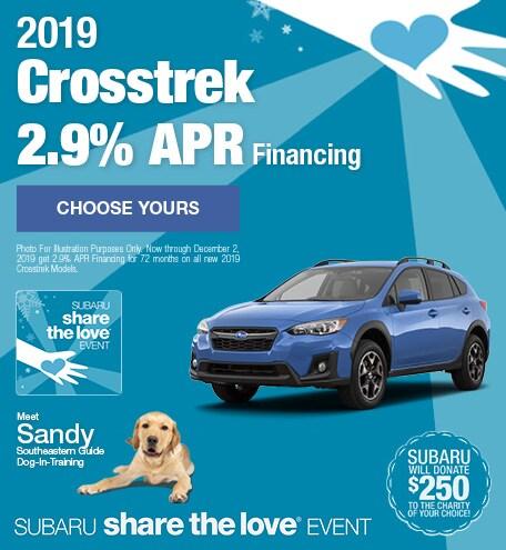 New 2019 Subaru Crosstrek - November STL