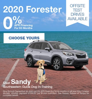 2020 Subaru Forester September Special