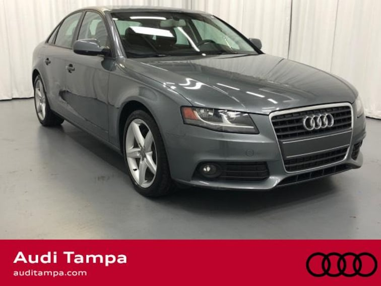 For Sale in Tampa: Pre-Owned 2012 Audi A4 4dr Sdn CVT Fronttrak 2.0T Premium Car