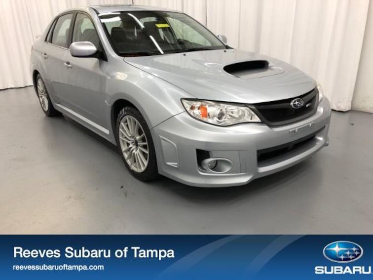 For Sale in Tampa: Pre-Owned 2013 Subaru Impreza WRX 4dr Man WRX Limited Car