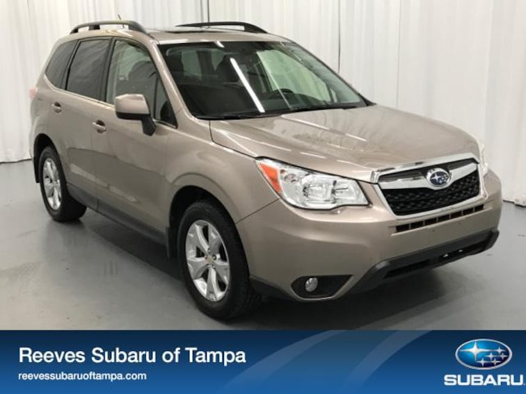 For Sale in Tampa: Pre-Owned 2015 Subaru Forester 4dr CVT 2.5i Limited Pzev Sport Utility