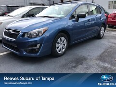 Pre-Owned 2016 Subaru Impreza 5dr CVT 2.0i Car for sale inTampa,Florida