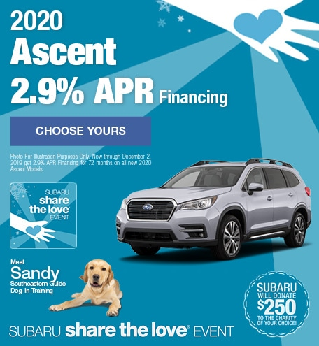 New 2020 Subaru Ascent - November STL