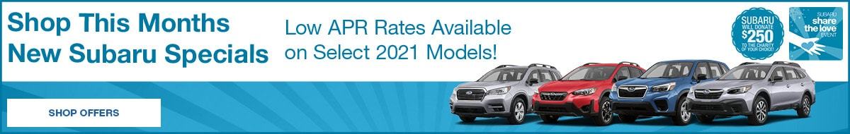 Shop This Months New Subaru Specials - November STL