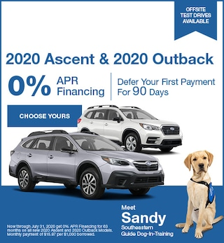 July - 2020 Ascent & 2020 Outback