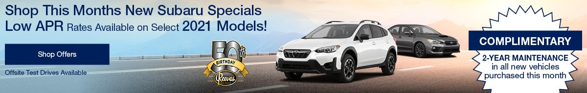 Shop This Months New Subaru Specials