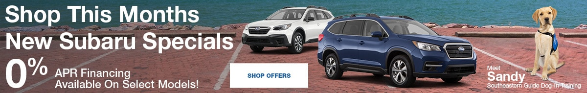Shop This Months New Subaru Specials September