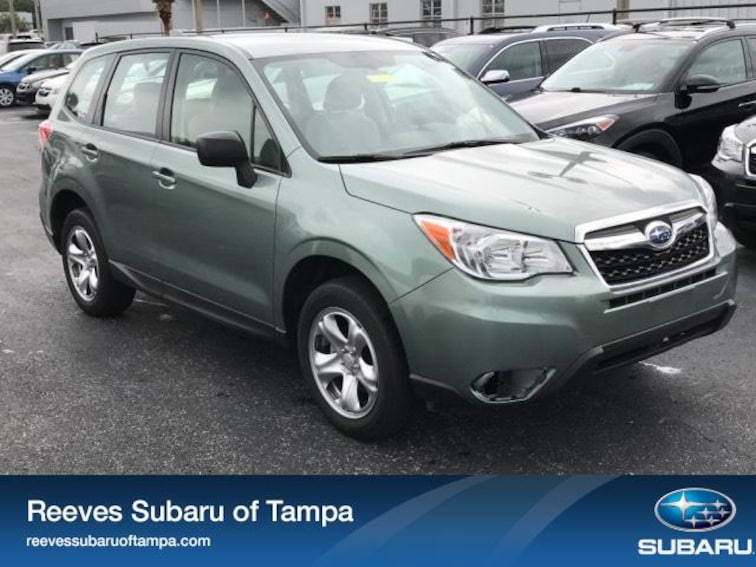 For Sale in Tampa: Pre-Owned 2016 Subaru Forester 4dr CVT 2.5i Pzev Sport Utility