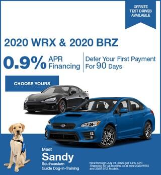 July - 2020 WRX & 2020 BRZ