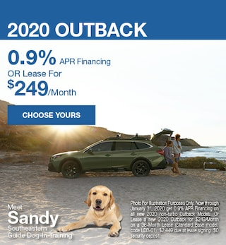 New 2020 Subaru Outback - January Special