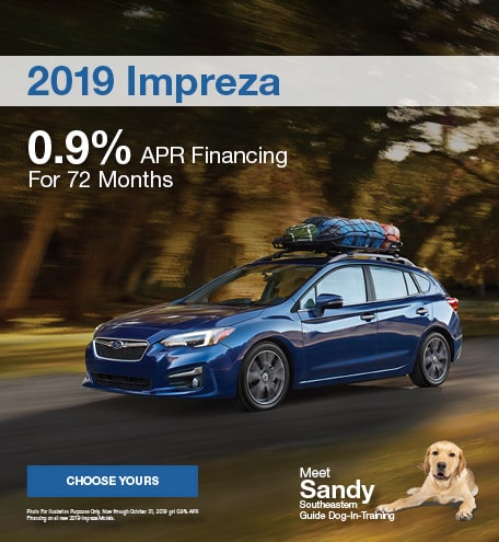 Subaru 0 Financing >> New Subaru Specials Near Land O Lakes Reeves Subaru Of Tampa
