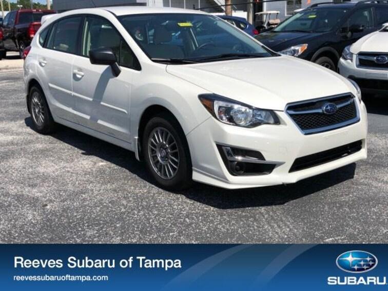 For Sale in Tampa: Pre-Owned 2016 Subaru Impreza 5dr CVT 2.0i Car