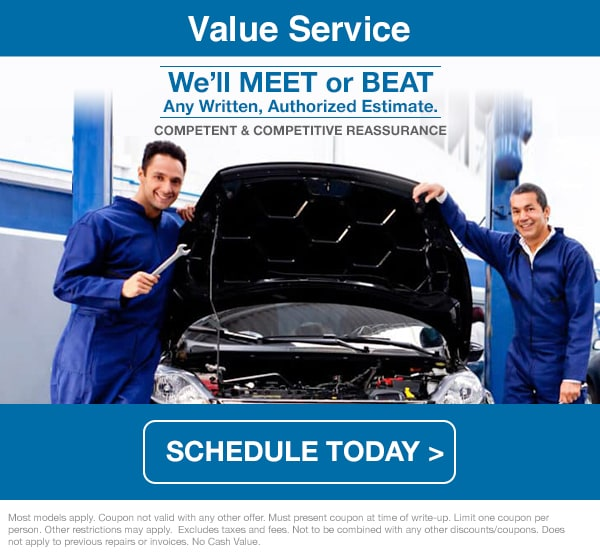 Subaru Value Service