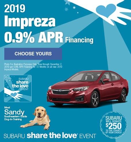 New 2019 Subaru Impreza - November STL