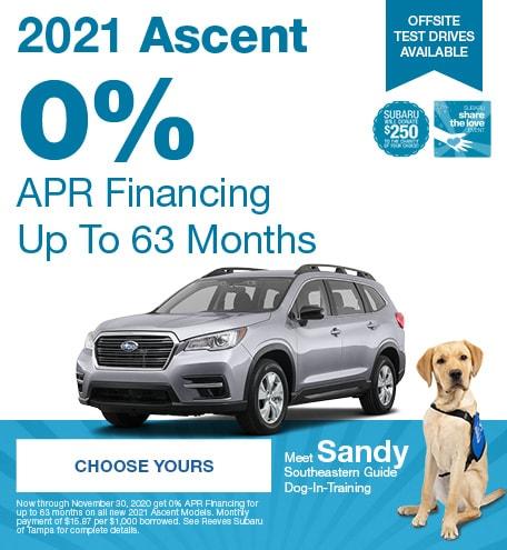 2021 Subaru Ascent November STL