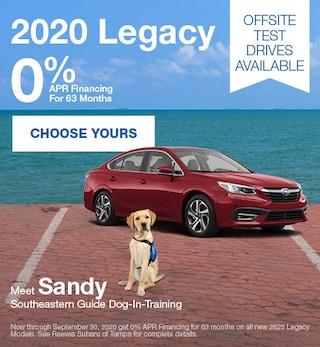 2020 Subaru Legacy September Special