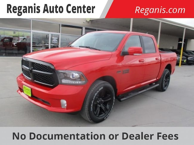 2018 Ram 1500 NIGHT CREW CAB 4X4 5'7 BOX Crew Cab