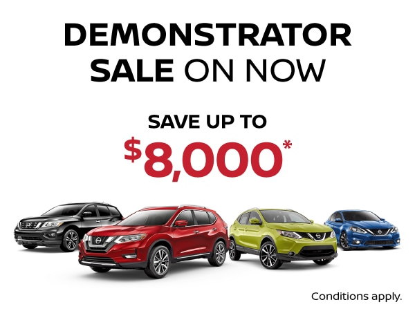 Demo Sale on Now