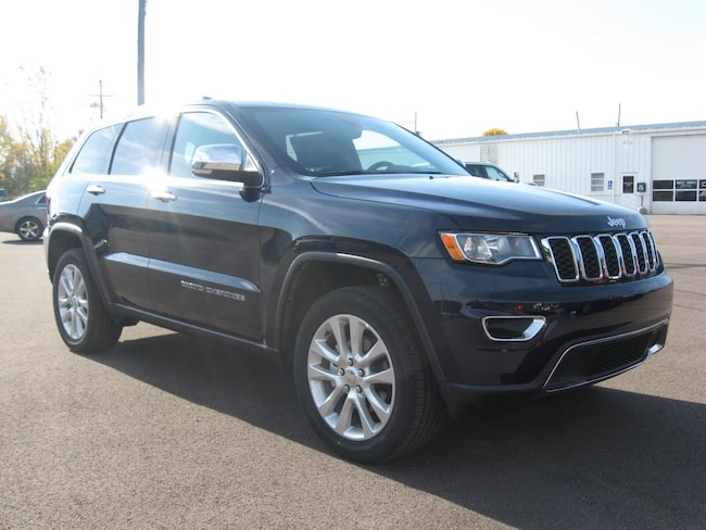 New 2017 Jeep Grand Cherokee Limited 4x4 SUV in Upper Sandusky, OH