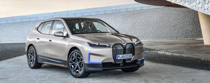 BMW iX Electric Crossover Exterior